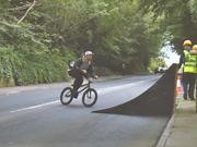 Bmx With Massive Bridge Gaps-To-Wallrides
