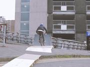 Bmx With Massive Bridge Gaps-To-Wallrides