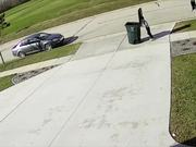 Garbage Can Takes Out Kid