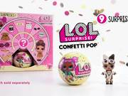 Series 3 Confetti Pop Tots Dolls Unboxing Balls