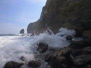 Waves Breaking Over