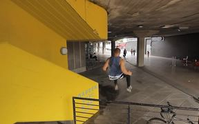 Some Really Intense Parkour