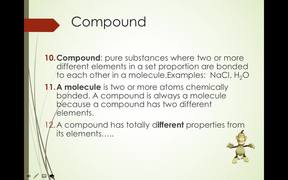 Element Compound and Mixture