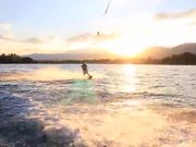 Wakeboarding on the Lake