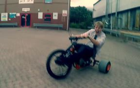 Cool Motorised Drift Trike