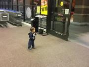 Baby Reaction To Sliding Doors
