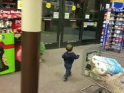 Baby Reaction To Sliding Doors
