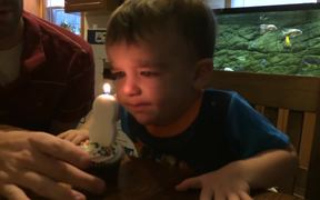 Terrible At Blowing Out Candles