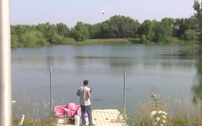 Fishing With A Drone