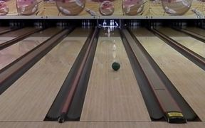Spinning Bowling Trick Shots