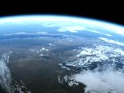 Earth From Space Animation