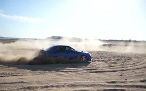 Subaru Drifting Off-Road