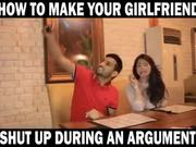 How To Make Your Girlfriend Quiet