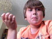 Kid Eats Hot Pepper