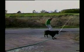 Dog Sprays Down Owner With Hose