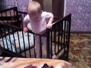 Baby Makes Clever Escape