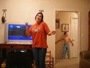 Brother Dancing Behind