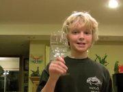 Kid Breaks a Glass