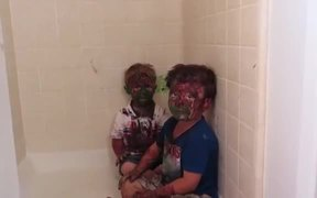 All Covered In Paint