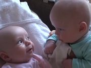 Twins Having A Serious Talk