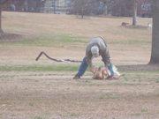 Dog Wont Leave The Park