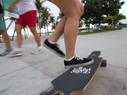 Dancing On A Longboard