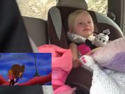 Girl Gets Emotional While Watching Cartoon
