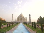 Handheld Shot of the Taj Mahal