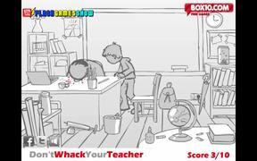 Don't Whack Your Teacher Walkthrough