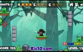 Bazooka and Monster Walkthrough