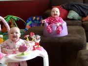 Creepy Laughing Twin Babies