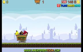 Angry Birds Dangerous Railroad Walkthrough