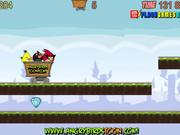 Angry Birds Dangerous Railroad Walkthrough