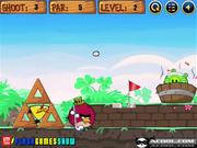Angry Birds Golf Competition Walkthrough