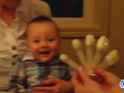 Babies Laughing At Spoons