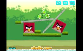 Angry Birds Kick Piggies Walkthrough