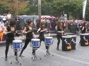 Female Korean Drum Band