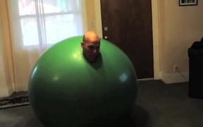 Balloon Man Gets Excited