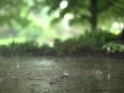 Raindrops in Super Slow Motion