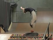 Skateboard Stairs Back Flip