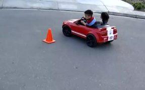 Little Kids Drifting