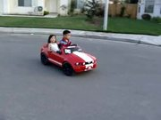 Little Kids Drifting