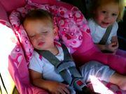 Baby Wakes To Gangam Style