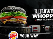Burger King Commercial: Halloween Whopper