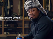 Pepsi: Unlikely Spokesperson Marshawn Lynch