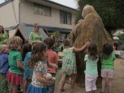 Snook the Sloth at Santa Barbara's Earth Day