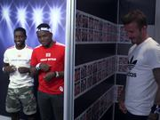Adidas Campaign: David Beckham Pops Up