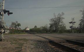 GO and CN Trains at Mile 18.15 on Bala Sub