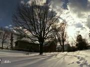 Back Yard Winter Time Lapse