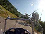 Rollei Bullet 5s Demo auf BMW 1200 GSA
